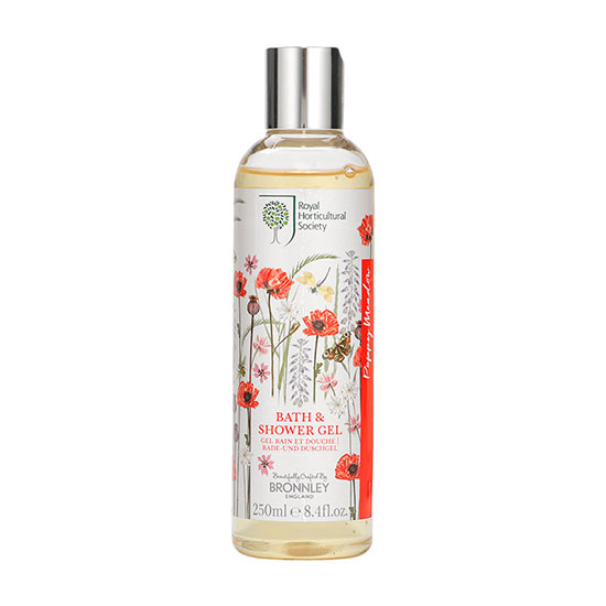 Bronnley RHS Poppy Meadow Shower Gel 250ml