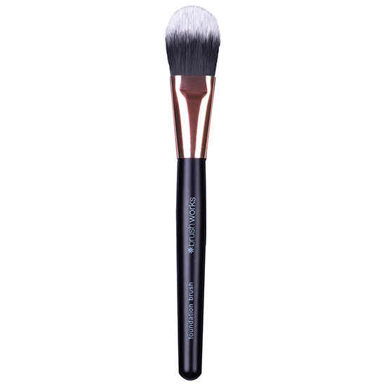 Brushworks Foundation Brush Black/Gold