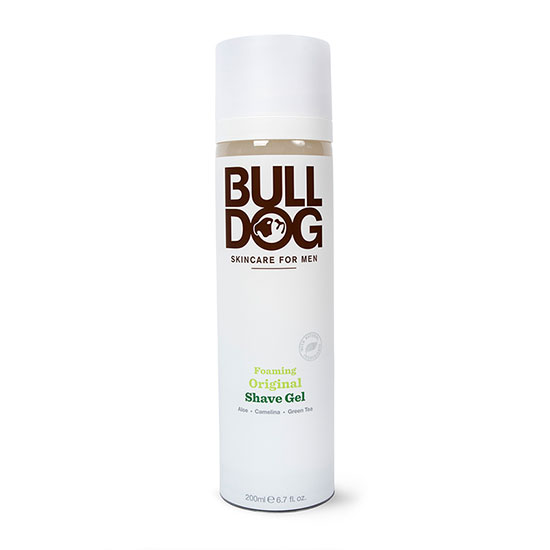 Bulldog Skincare For Men Foaming Original Shave Gel