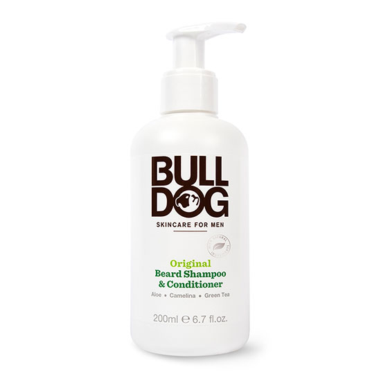 Bulldog Skincare For Men Original 2in1 Beard Shampoo and Conditioner 200ml