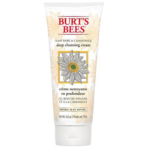 Burt's Bees Soap Bark & Chamomile Deep Cleansing Cream 170g