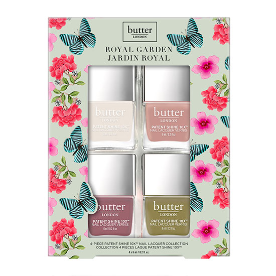 butter LONDON Royal Garden Collection