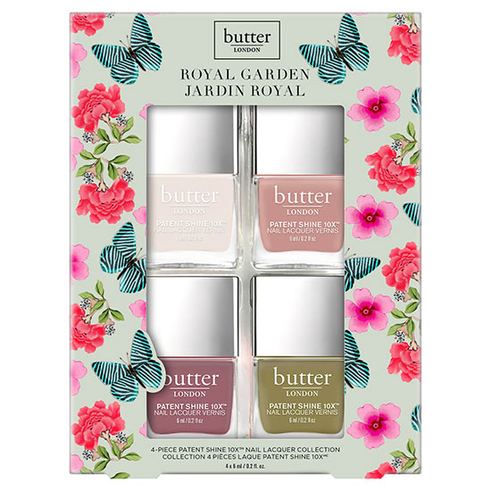 butter LONDON Royal Garden Gift Set