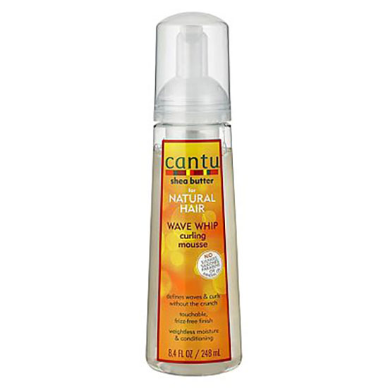 Cantu For Natural Hair Wave Whip Curling Mousse