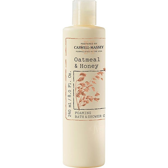 Caswell Massey Oatmeal and Honey Foaming Bath and Shower Cream
