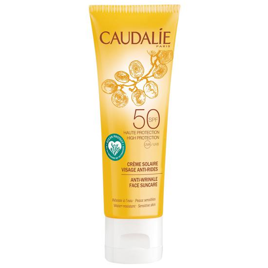 Caudalie Anti-wrinkle Face Sun Care Lotion SPF50