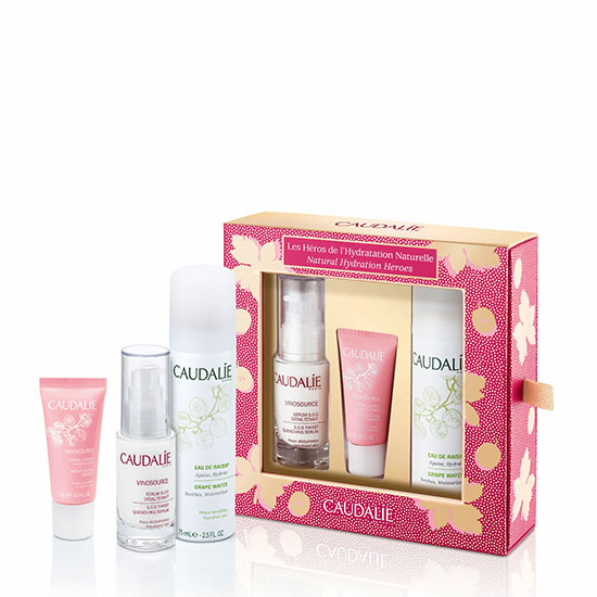 Caudalie Vinosource Natural Hydration Heroes Gift Set