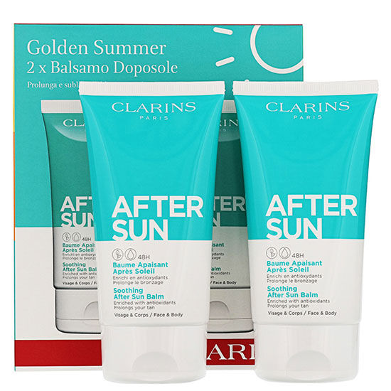Clarins Aftersun Golden Summer Aftersun Duo