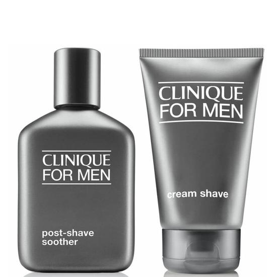Clinique for Men Cream Shave & Post Shave Soother Bundle