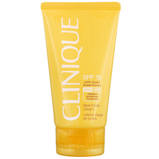 Clinique Sun Protection SPF15 Face & Body Cream 150ml