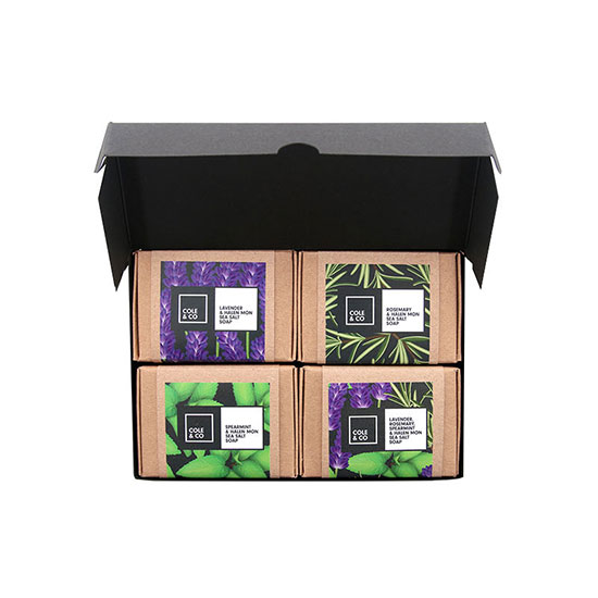 Cole & Co The Herbal Soap Collection