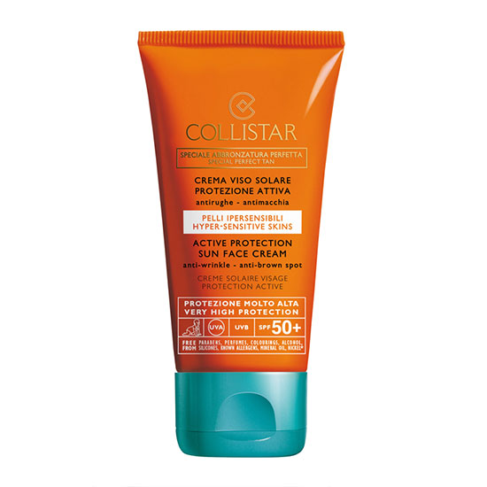 COLLISTAR Protection Sun Face Cream Anti-Wrinkle SPF 50+