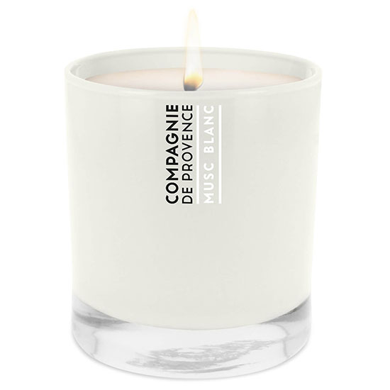 Compagnie de Provence White Musk Scented Candle