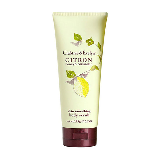 Crabtree & Evelyn Citron Honey & Coriander Body Scrub 175g