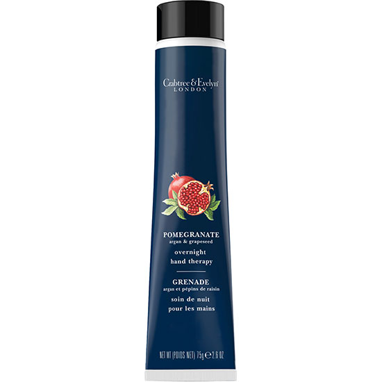 Crabtree & Evelyn Pomegranate Argan & Grapeseed Overnight Hand Therapy 75g