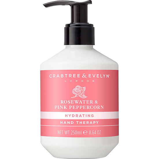 Crabtree & Evelyn Rosewater & Pink Peppercorn Hand Therapy Cream 250ml
