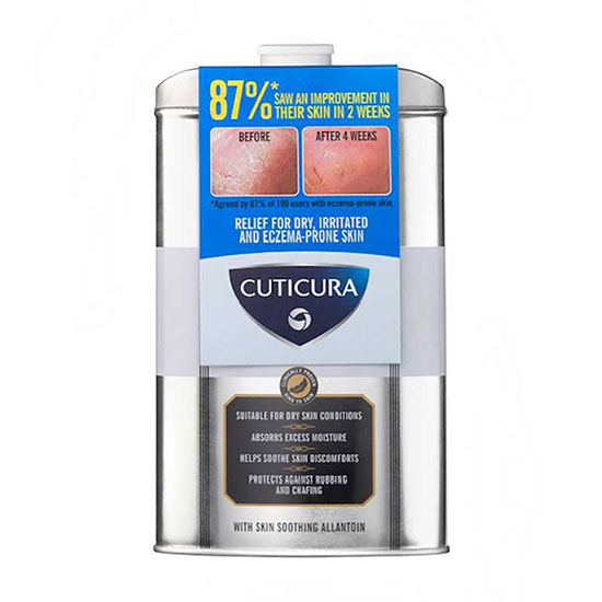 Cuticura Mildly Medicated Talcum Powder 150g