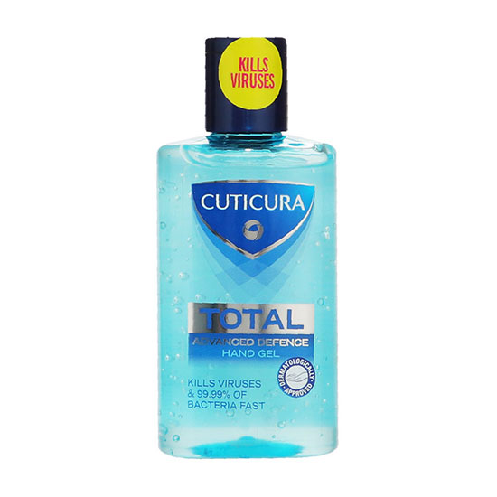 Cuticura Total Advanced Defence Anti-Bacterial Hand Gel 100ml