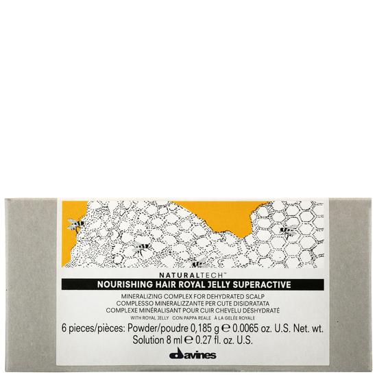 Davines Natural Tech Nourishing Hair Royal Jelly Superactive 6 x 8ml