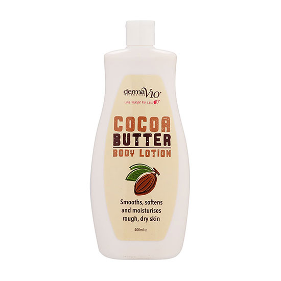 Derma V10 Cocoa Butter Body Lotion 400ml