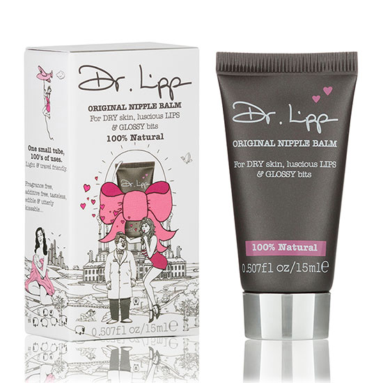 Dr.Lipp Original Nipple Balm for Dry Skin, Luscious Lips & Glossy Bits