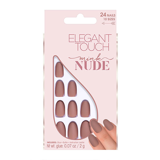 Elegant Touch Nude Collection Nails