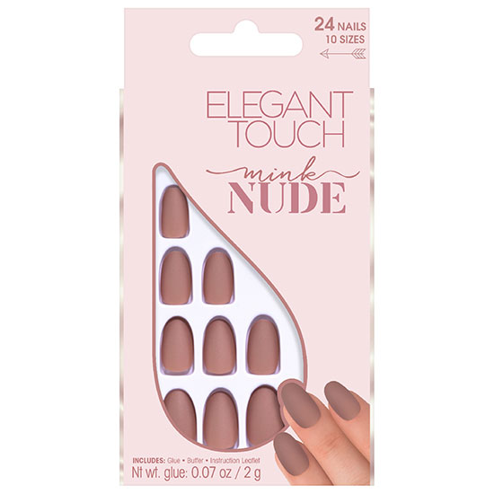 Elegant Touch Nude Collection Nails Porcelain