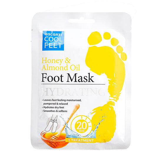 Escenti Honey & Almond Oil Foot Mask