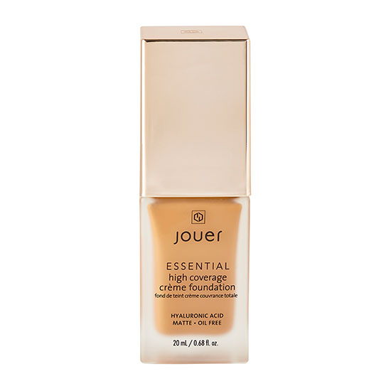 Jouer Cosmetics Essential High Coverage Creme Foundation Cafe