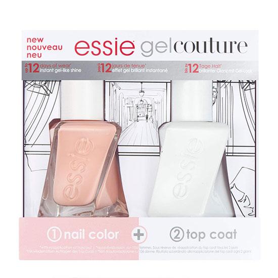 essie Nail Polish Gel Couture Wedding Mani Duo Kit   Cosmetify