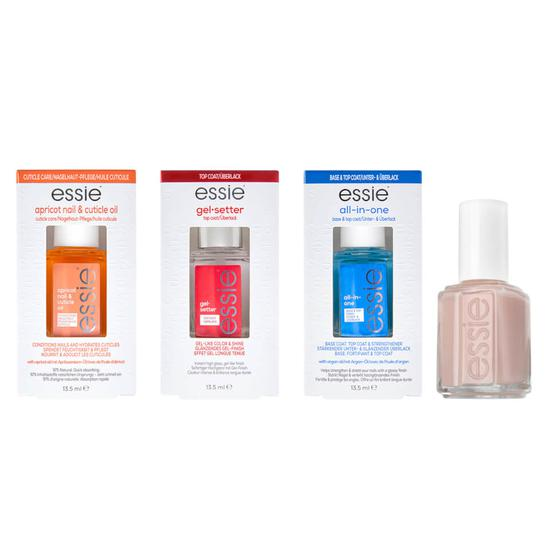 essie The Perfect Nude At Home Manicure Bundle