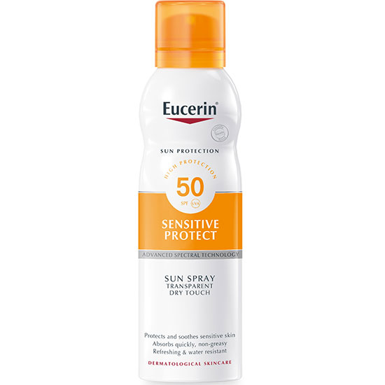Eucerin Sensitive Protect Sun Spray SPF50 200ml