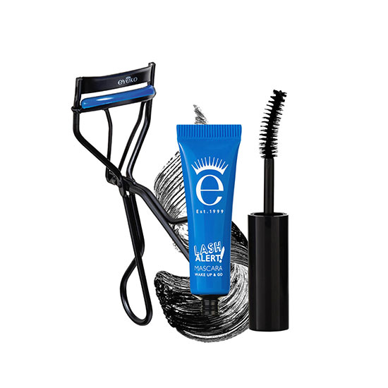 Eyeko Lash Alert Cushion Curler & Mascara Set