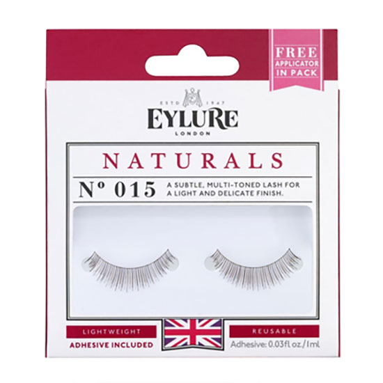Eylure Strip Eyelashes Naturals 015