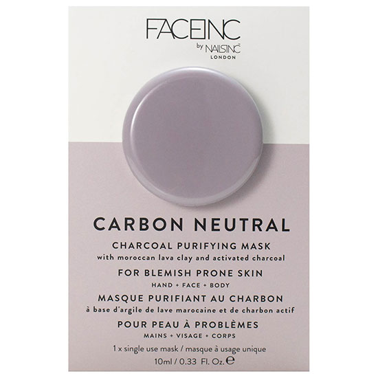 Nails Inc FACEINC By Nails Inc. Carbon Neutral Charcoal Purifying Pod Mask