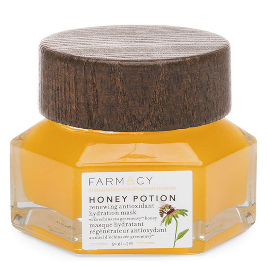 FARMACY Honey Potion Renewing Antioxidant Hydration Mask | Cosmetify