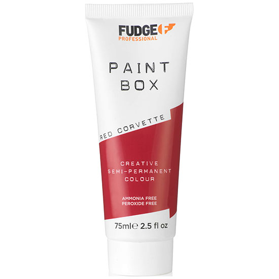 Fudge Paintbox Hair Colourant 75ml Red Corvette