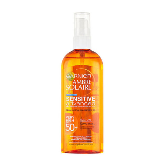 Garnier Ambre Solaire Oil Sensitive Advance SPF50