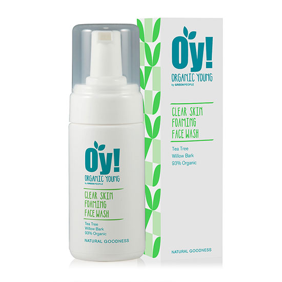 Green People Oy! Organic Young Foaming Clear Skin Face Wash