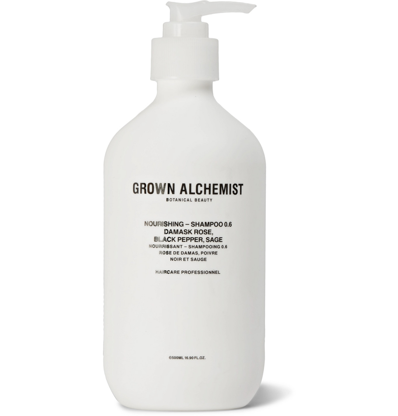 Grown Alchemist Nourishing Shampoo Damask Rose, Black Pepper, Sage 500ml