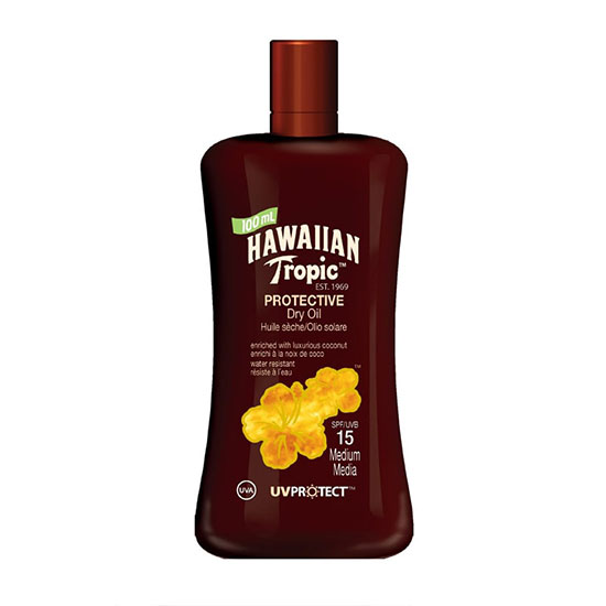 Hawaiian Tropic Protective Oil SPF15 Mini Bottle