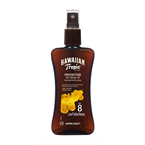 Hawaiian Tropic Protective Spray Oil SPF8