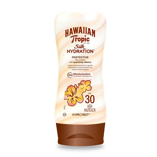 Hawaiian Tropic Silk Hydration Lotion SPF30 Tottle