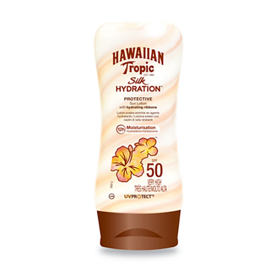 Hawaiian Tropic Silk Hydration Lotion SPF50 Tottle 180ml