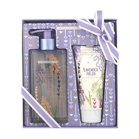 Heathcote & Ivory Lavender Fields Hand Wash & Hand Cream Set