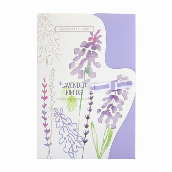 Heathcote & Ivory Lavender Fields Scented Drawer Liners