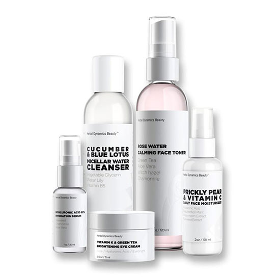 "Herbal Dynamics Beauty ""Love Your Skin"" Daily Skincare Essentials Set"