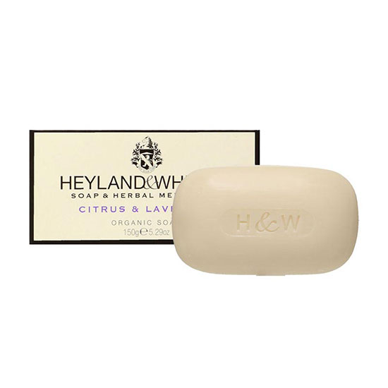 Heyland & Whittle Organic Citrus & Lavender Soap Bar 150g
