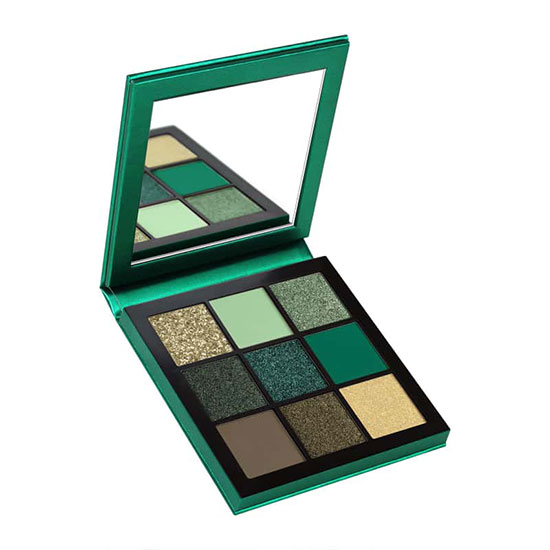 Huda Beauty Obsessions Eyeshadow Palette Emerald Emerald