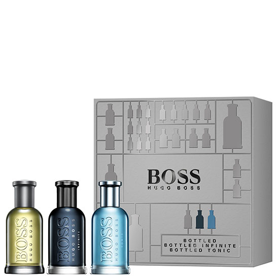 Hugo Boss Boss Bottled Eau de Toilette Spray Trio Gift Set